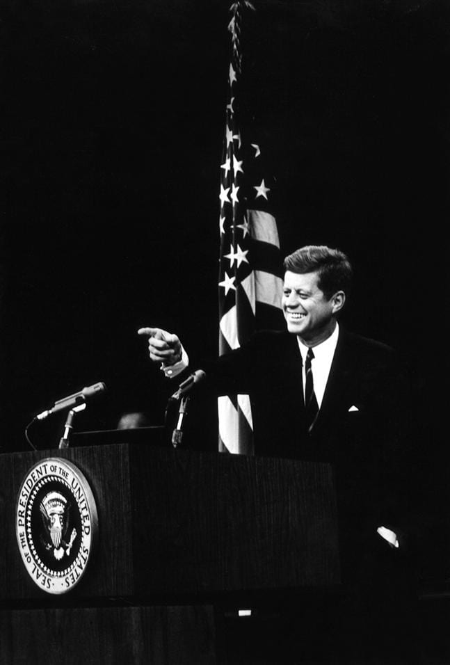life and contributions of john f kennedys as the youngest elected president of the united states