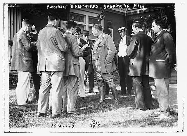 "... Roosevelt at the Laying of the Corner Stone of the Office Building of the House of Representatives, April 14 1906"" (""The Man with the Muck-Rake"") (14 ..."