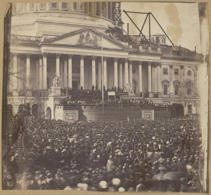 Lincoln First Inaugural Photo