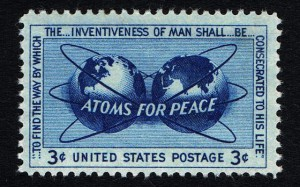 atoms-for-peace-stamp