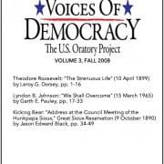 VOD Journal volume 3 cover