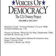 VOD Journal volume 6 cover