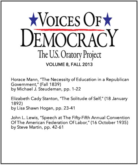 voices of democracy essay The voice of democracy program celebrated its 67th year with this year's theme, why i'm optimistic about our nation's future the first-place winner.