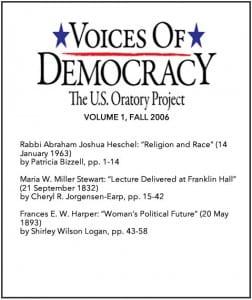 VOD Journal volume 1 cover