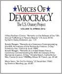 VOD Journal volume 10 cover