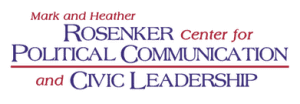 Rosenker Center for Political Communication and Civic Leadership logo